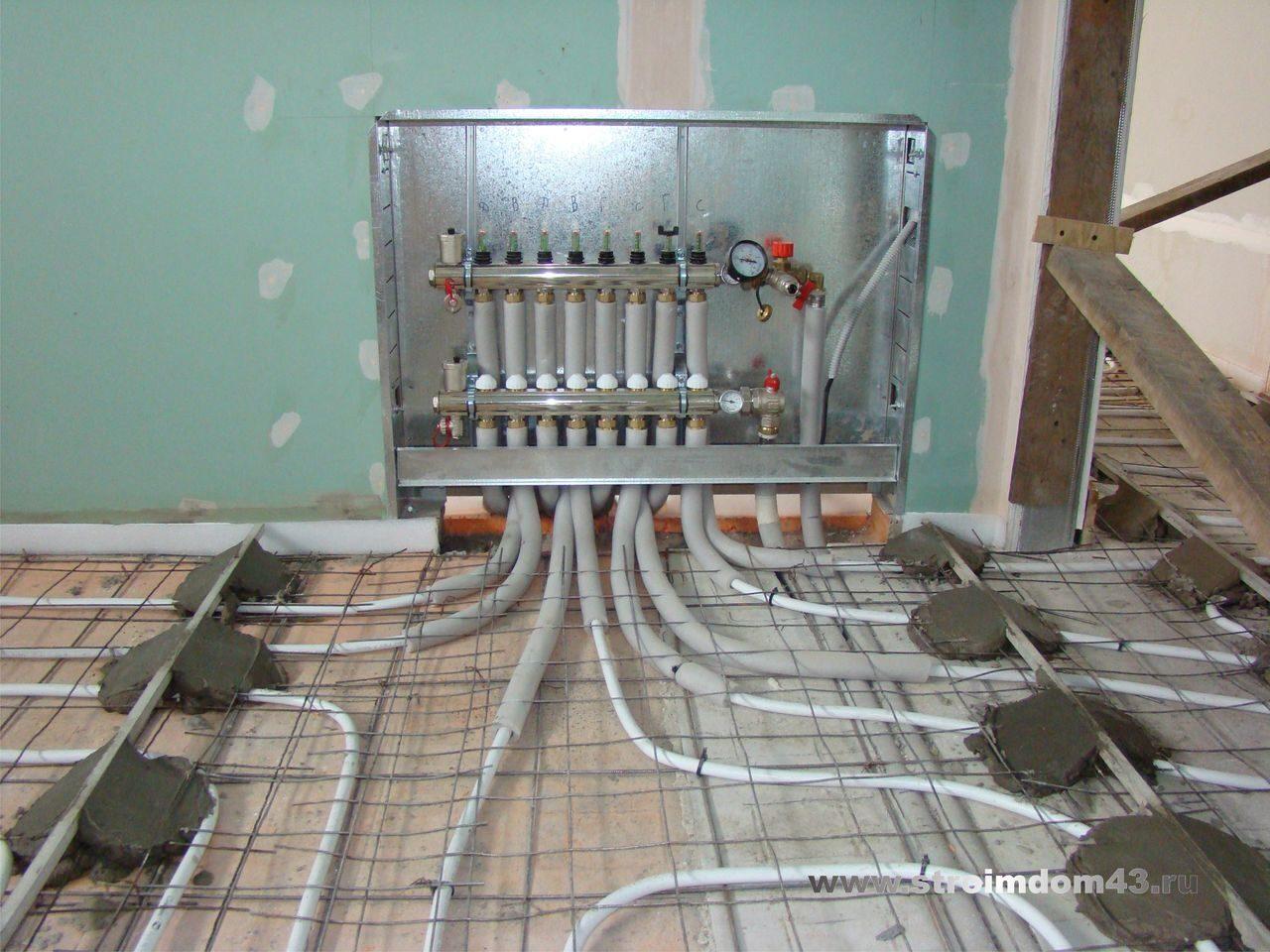 Водяное отопление пола своими руками фото 332
